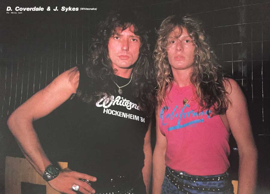 David Coverdale John Sykes