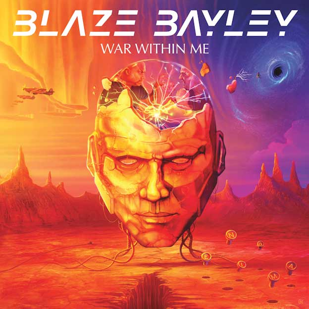 """Blaze Bayley release new album """"War Within Me"""" - Rockpages"""