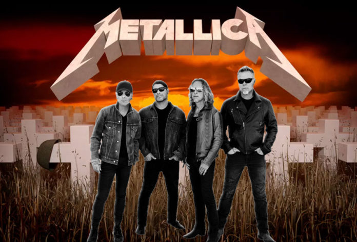 Metallica Master Of Puppets 35th anniversary
